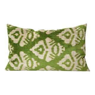 Custom Silk Velvet Accent Pillow