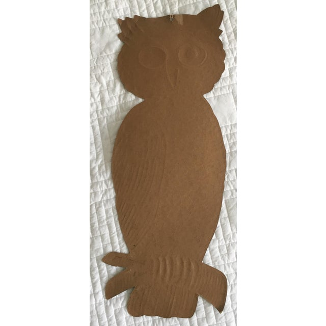 Mid Century Owl - Wall Decor - Image 5 of 5