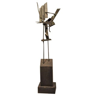 Oliver Andrews (American 1925-1978) Welded Steel Sculpture