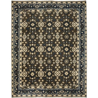"""New Contemporary Hand Knotted Area Rug - 8' x 10'2"""""""