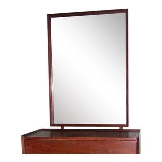 Milo Baughman for Dillingham Mid-Century Modern Walnut Mirror