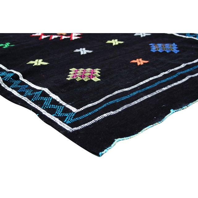 Image of Boho Chic Moroccan Rug - 4'8'' X 3'2''