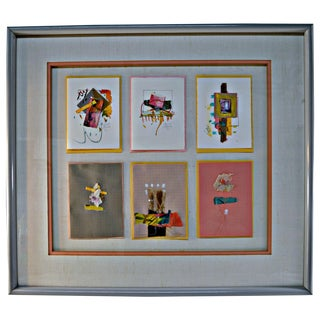 Jeanne Brady Vintage Handcrafted Cards Wall Art