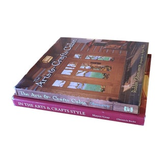 First Ed. Arts & Crafts Style Decor Books - A Pair