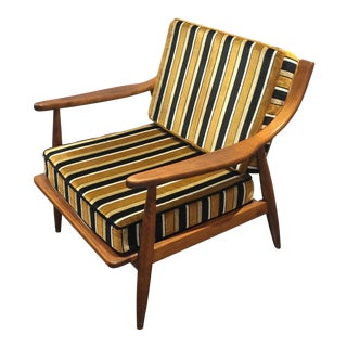 Conant Ball Walnut Arm Chair