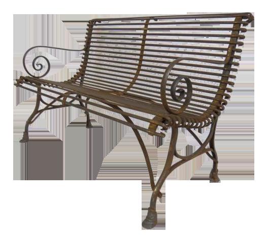 Amazing 1920u0027s French Garden Bench