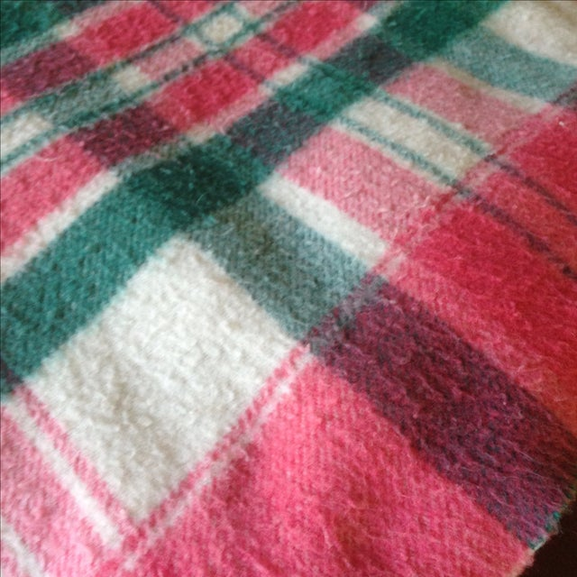 Vintage Plaid Picnic/Gameday Blanket - Image 10 of 11