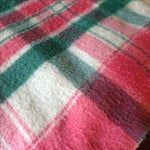 Image of Vintage Plaid Picnic/Gameday Blanket