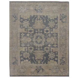 "Indian Oushak Rug - 8'1"" x 9'11"""