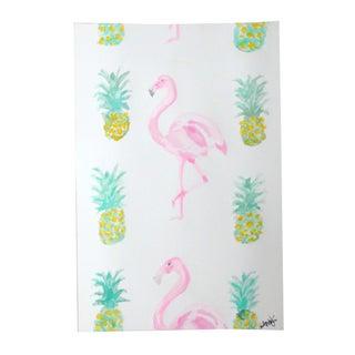 Original Watercolor - Tropical Pattern