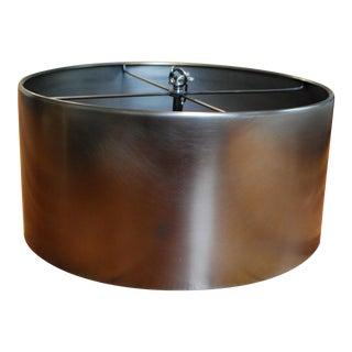 Restoration Hardware Antiqued Metal Drum Pendant