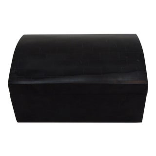 Black Horn Trinket Box