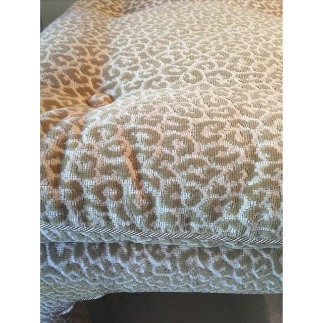 Scalamandre Leopard Print Bench/Ottoman - Image 5 of 5