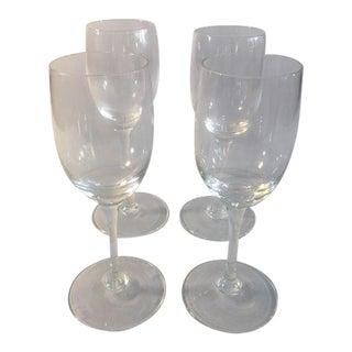 Flute Glasses - Set of 4