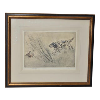 Henry Wilkinson English Sporting Dog Etching