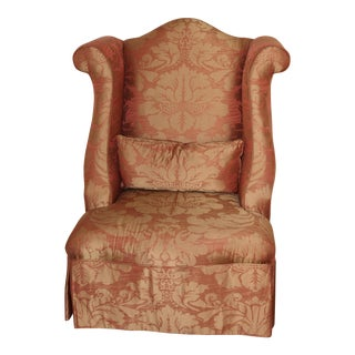 Henredon Wingback Upholstered Chair
