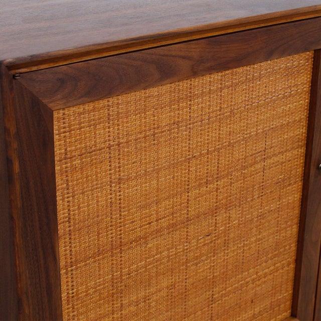 Mid-Century American Modern Walnut Sideboard & Dry Bar - Image 5 of 11