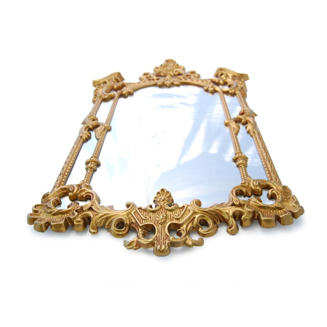 Gold Royal French Style Mirror - Image 4 of 5