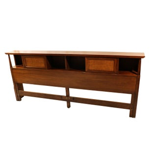 Mid-Century American of Martinsville King Storage Headboard