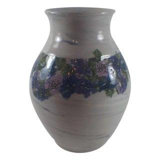 Artist Made Millefiori Pottery Vase