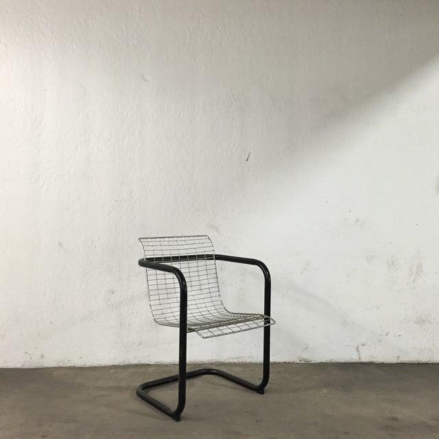 Modern Metal Industrial Chair - Image 2 of 6