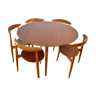 "Hans Wegner ""Heart"" Dining Set"