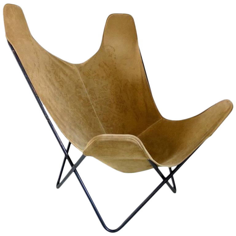 Butterfly Chair By Jorge Ferrari Hardoy For Knoll   Image 1 Of 9