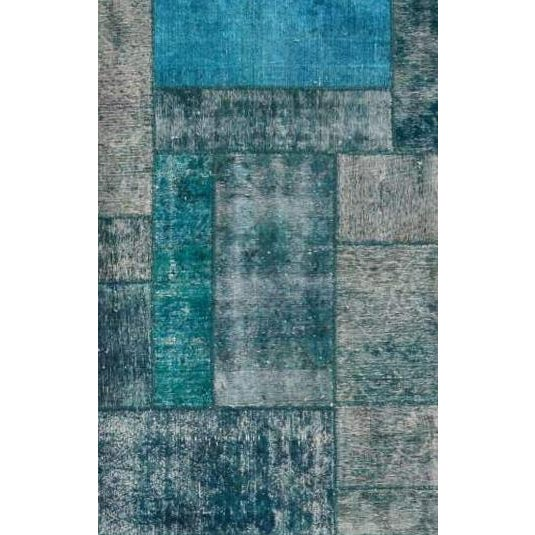 """Pasargad Patchwork Collection Rug - 6'9"""" X 8'4"""" - Image 2 of 2"""