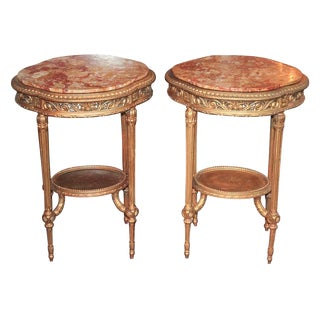 Pair of French Louis XVI Stands