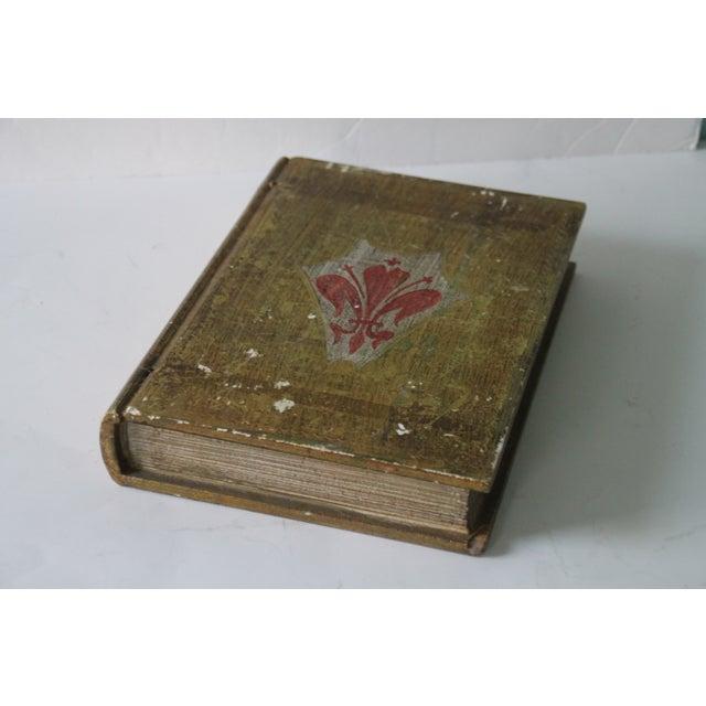 Florentine Fleur De Lis Book Box - Image 8 of 8