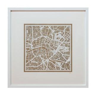 Sarreid LTD London Framed Map