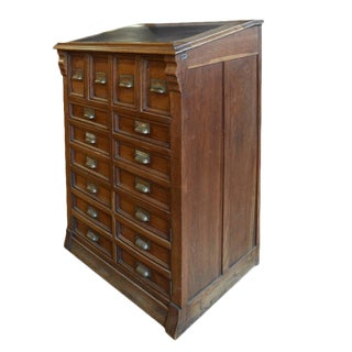 Italian Multi-Drawer Collections Cabinet