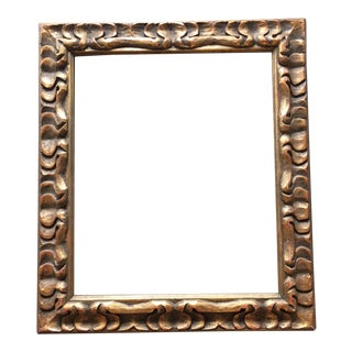 Mid-Century Hand Carved Frame