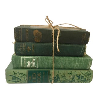 Vintage Gardening and Nature Books - Set of 4