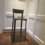Image of Leather Bar Stools - A Pair