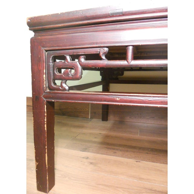 Antique Ming Coffee Table - Image 5 of 8