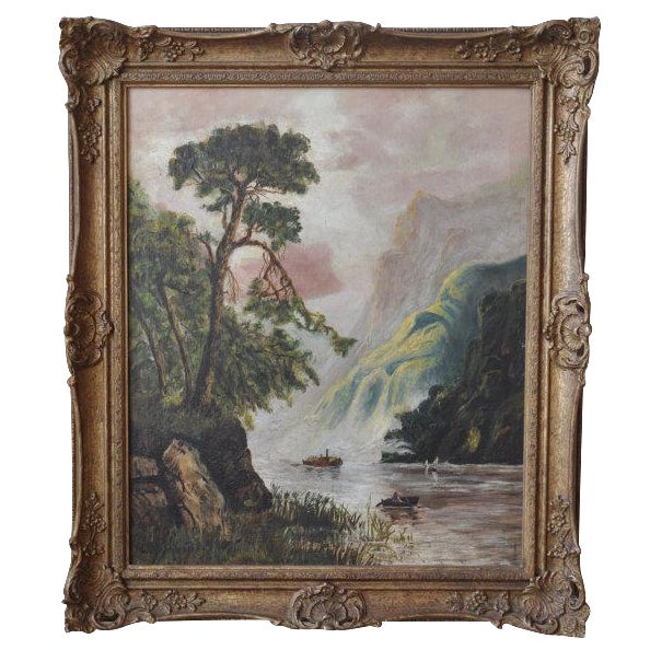Louise Pickard - Oil on Canvas - Landscape C. 1910 - Image 1 of 5