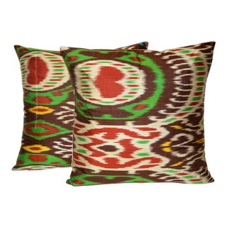 Fabric Ikat Pillow 019