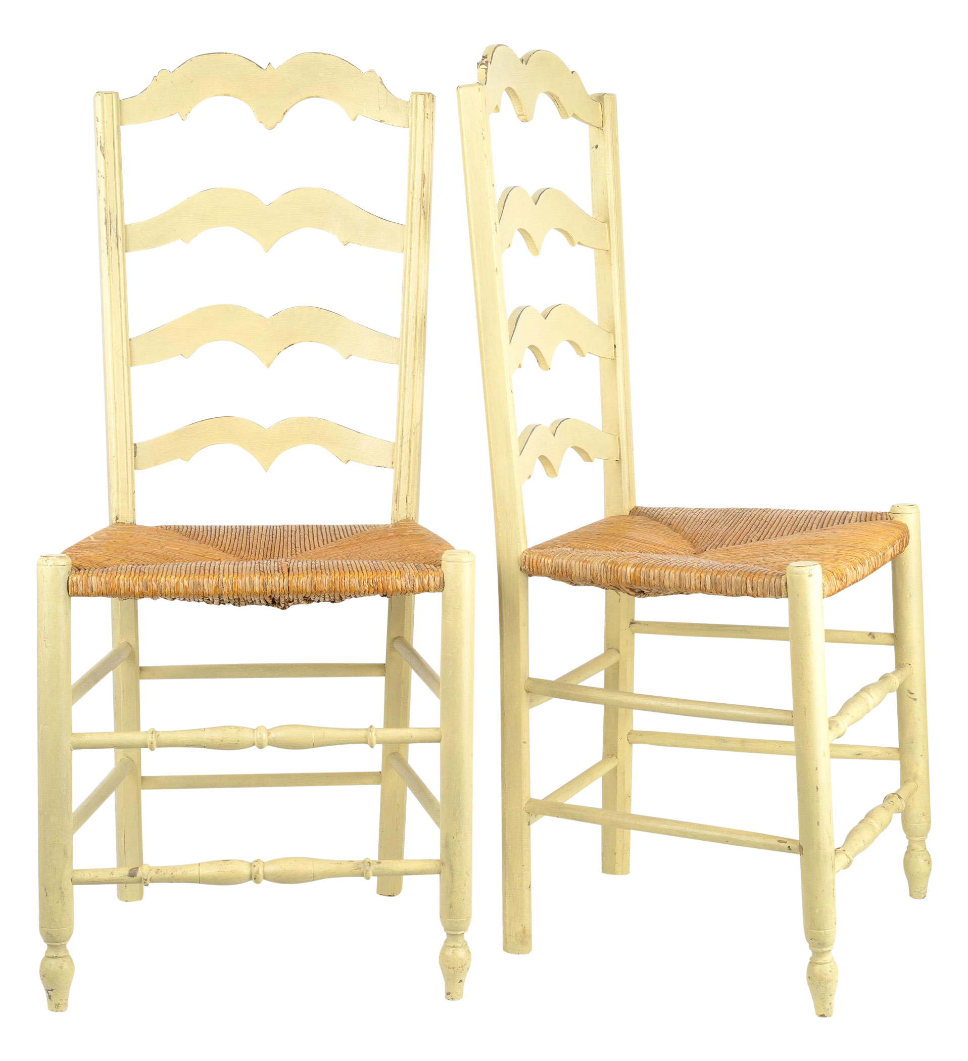 french country rush seat dining chairs set of 8