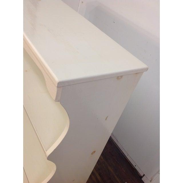 White Painted Pine Bookshelf - Image 7 of 9