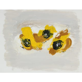 Gwen Stone Yellow Monoprint, 2003