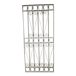 Antique Victorian Architectural Iron Gate 79