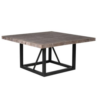 Nina Pine & Iron Dining Table