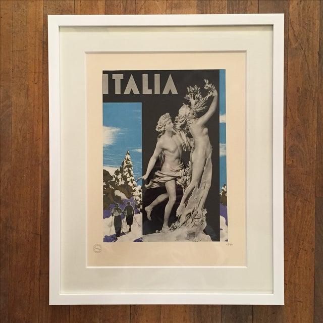 1936 Vintage Advertising Tourism Print Italia - Image 5 of 5