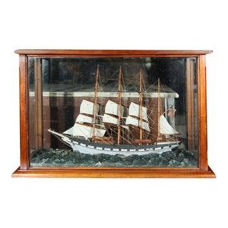 Four Masted Sailing Schooner Model
