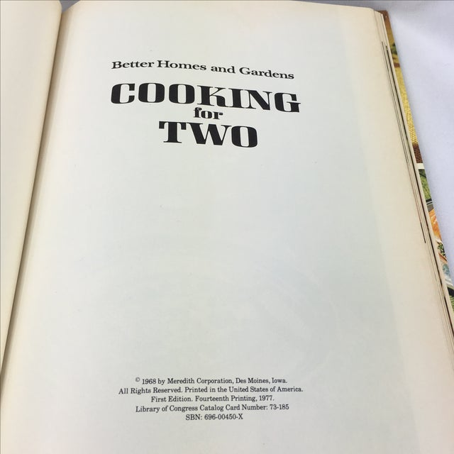 Mid Century Cookbook - Cooking for Two - Image 4 of 8