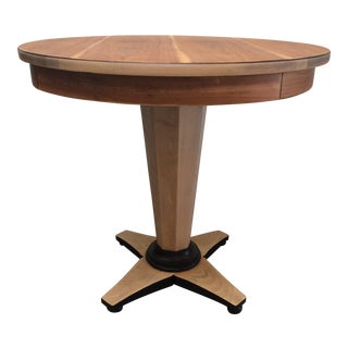 Biedermeier Style Pedestal Table