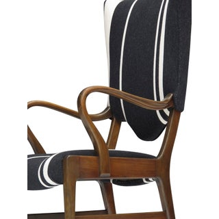 1930s Danish High Back Chair