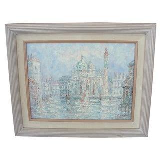 Impressionist European Cityscape