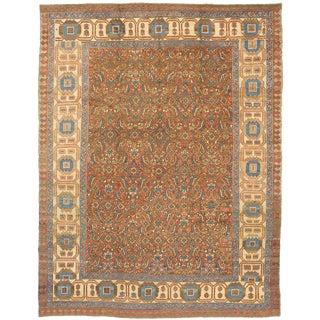 """Antique Bakshaish Carpet - 11'7"""" x 9'3"""""""